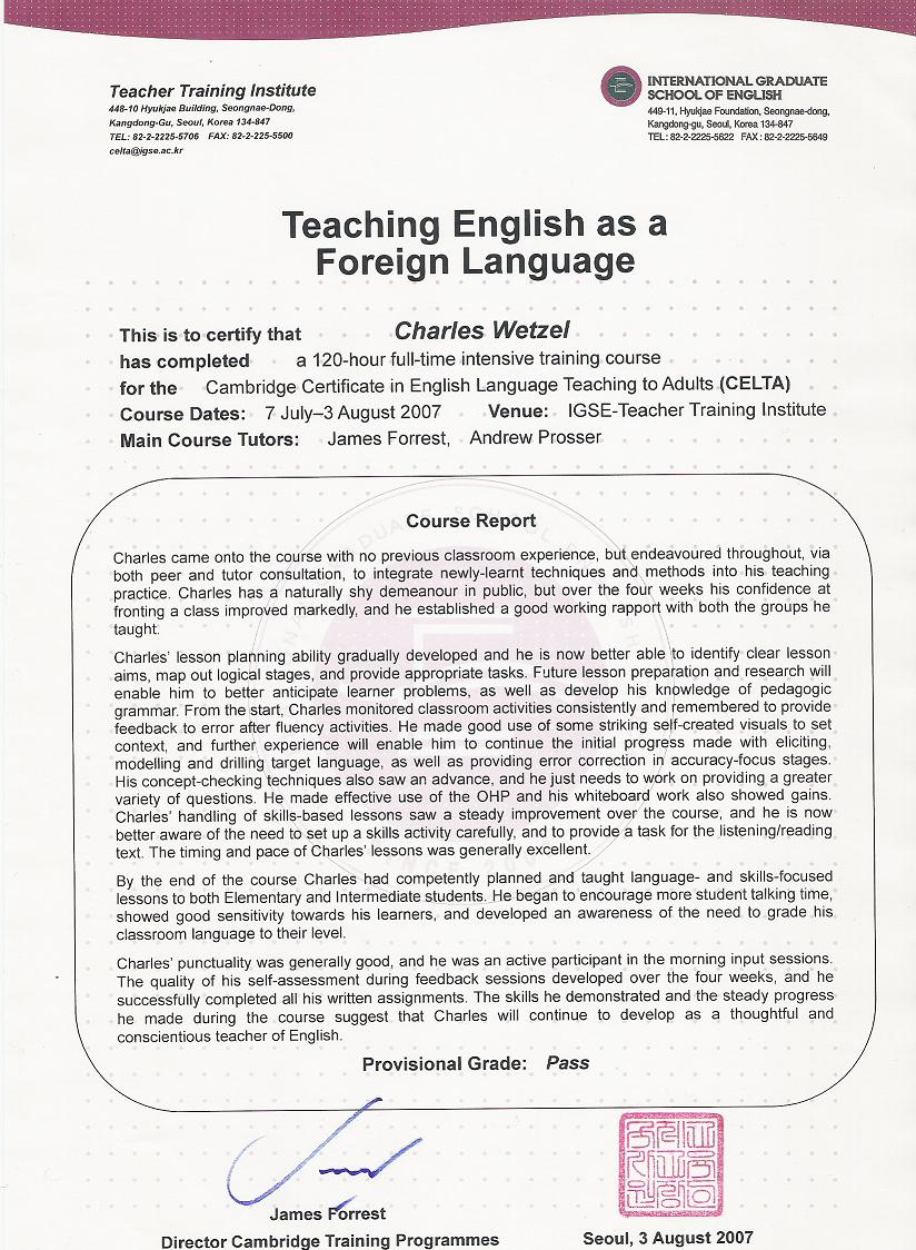Celta_passg Recommendation Letter For A Friend Template Seeabruzzopersonal  Recommendation Letter Cover Letter Examples How To Write A Proposal  Cambridge